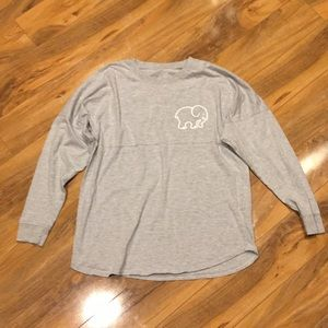 Extra small ivory Ella long sleeve T-shirt